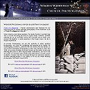 website for Winter Weddings by Chesler Photography, Finger Lakes, NY